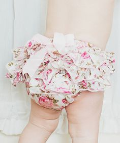 Look at this Bubby & Belle Light Pink Floral Ruffle Satin Diaper Cover - Infant by Bubby & Belle Rockabilly Baby, Daddys Little Princess, Kids Fashion, Fashion Outfits, Stylish Kids, Beautiful Babies, Baby Love, Cute Kids, Kids Outfits