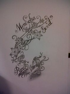 Nice tattoo, bit minus the names