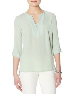 Topstitched Tunic from THELIMITED.com