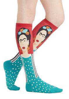 <3 calcetines de Frida Kahlo.
