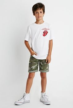 Forever 21 is the authority on fashion & the go-to retailer for the latest trends, styles & the hottest deals. Young Boys Fashion, Toddler Boy Fashion, Little Boy Fashion, Fashion Kids, Hipster Kid, Kids Clothes Boys, Kids Wardrobe, Cute Toddlers, Kids Shorts