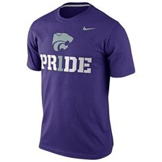 on sale 431a9 6f38e Nike Kansas State Wildcats Team Pride T-Shirt - Purple XL Brian Kansas  State Basketball