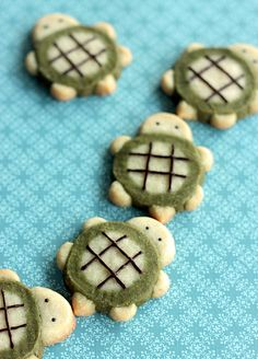 Tiny turtle cookies ♥