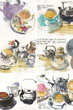 Liz Steel: Cuppa Tea Time: 2015 Highlights