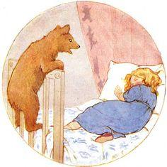 Margaret Tarrant - Goldilocks and the Three Bears