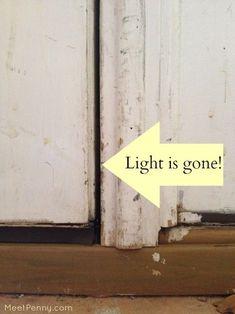 home repair diy,house repairs,fix your home,home maintenance hacks Door Weather Stripping, Door Stripping, Door Redo, Diy Door, Basement Doors, Garage Doors, Basement Plans, Basement Renovations, Basement Ideas