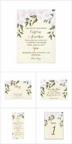 Ivory Floral Wedding Suite