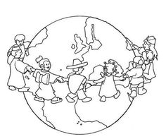 Coloring Ideas Earth Day Poster Coloring Pages - Coloring Ideas K Crafts, World Crafts, Bible Crafts, Space Coloring Pages, Coloring Books, Earth Day Posters, School Murals, Kids Around The World, Thinking Day