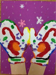 Mrs. Knight's Smartest Artists: Mitten Monoprints