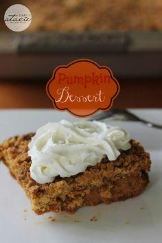 Pumpkin Dessert | http://simplystacie.net | http://#pumpkin http://#desserts http://#Fall