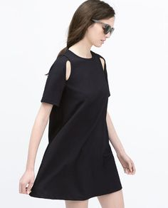 ZARA - WOMAN - SHORT SLEEVE DRESS