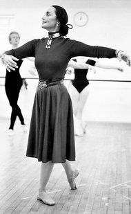 Moscelyne Larkin - Native American ballerina and co-founder of Tulsa Ballet