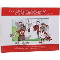 North Carolina State Wolfpack Childrens Interactive Hardcover Book