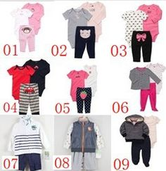 TZ207 Free Shipping Top Quality Carter's Baby Boys and Girls Short