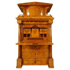 Biedermeier Secretary from Northern Germany, circa 1825 1