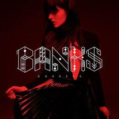 Title track of her forthcoming debut album. Banks announced yesterday her much-anticipated debut album Goddess . Banks Singer, Coachella, Kristen Stewart Chanel, Pochette Album, Best Albums, Music Albums, Lp Vinyl, Artists, Letters
