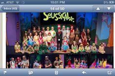 Full cast in costume