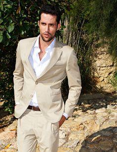 Tan Suit #Summer
