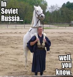 In soviet russia joke
