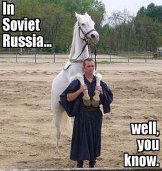 In soviet russia joke