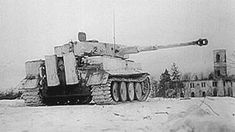 5sswiking: A Leibstandarte Division Tiger fires... war on the eastern front