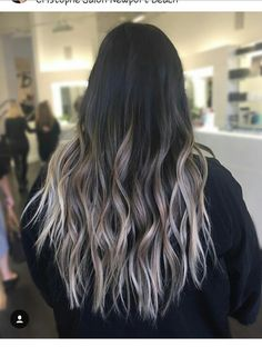 Ash blonde ombre hair Christophe