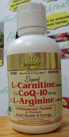 carnitina - Q10 - arginina 100 x 100 vitalidad www.nutrafoods.es