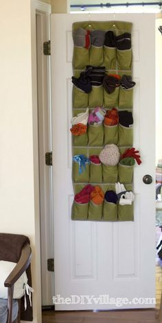 10 Things to Do with an Over-the-Door Shoe Organizer (Besides Storing Shoes)   Apartment Therapy