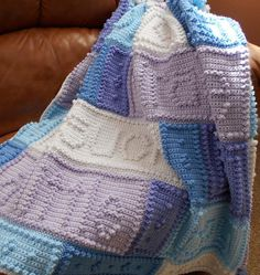 Looking for your next project? You're going to love MIRACLE pattern for baby blanket by designer ColorandShapeDesign.