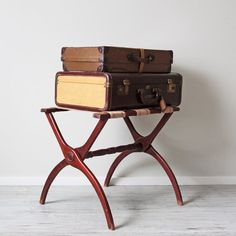 vintage luggage rack stand | For the Home | Pinterest | Vintage ...