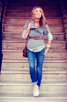 cute layers and belt