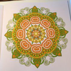 The Secret Book Mandala Coloring Colouring Garden Books Instagram Chance Drawings Pintura Backyard Libros Livres Garten