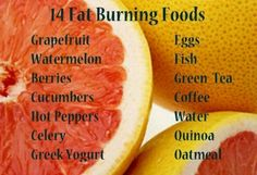 14 fatburning. Food