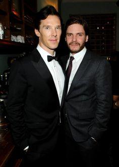 Benedict Cumberbatch and Daniel Bruhl