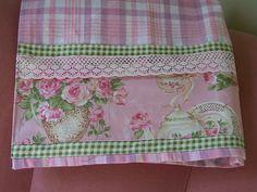Tea towel, tea towels, pink towel, roses towel. | Flickr - Photo Sharing!