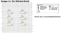 Block 11 - Stitch Story CAL - Small Block Chart