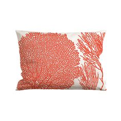 Our Sea Fan Lumbar Pillow is made with durable cotton canvas with zipper closure and is double-sided making it easy to place in any seating area.  This 14x24 pillow accommodates a 15x25 polyester fill or a 16x26 alternative down fill; sold separately and will be added to our listing soon.  ♒ Care Machine wash cold | Tumble dry low | Warm iron if needed    ......NOTE......  If there are no other items accompanying your order, we will have it shipped out within the shipping period. But if you…