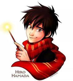 "Hiro Hamada ""Hogwarts"""