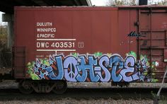 Bombing Science: Graffiti Blog - Johste