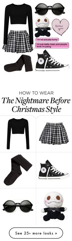 """Sad"" by wonders-of-the-world on Polyvore featuring Converse, H&M, women's clothing, women's fashion, women, female, woman, misses and juniors"