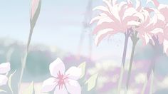 Trends For Pink Anime Aesthetic Gif Wallpaper pictures Sky Aesthetic, Flower Aesthetic, Aesthetic Anime, Aesthetic Japan, Anime Gifs, Anime Art, Banner Gif, Gif Background, Anime Flower