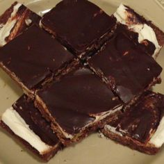 Iced Chocolate Squares Recipe 2 | Just A Pinch Recipes