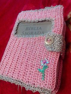 Capa para a bíblia em crochê professora Carina Dias (parte 1)