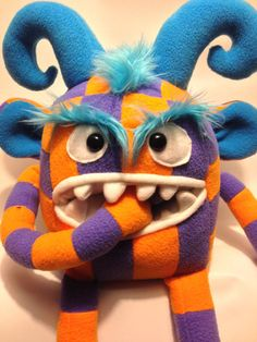 Monster Plush Toy by htavos on Etsy, $80.00