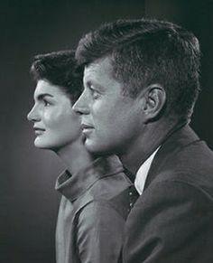 Karsh Portrait John and Jackie Kennedy