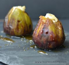 8 Delicious Fig Recipes | Grilled Brie Stuffed Figs with Honey 10 min @ 350