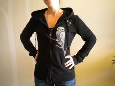 harry potter dragon eggs | Harry Potter Spells and Hedwig hand painted black jacket hoodie ...