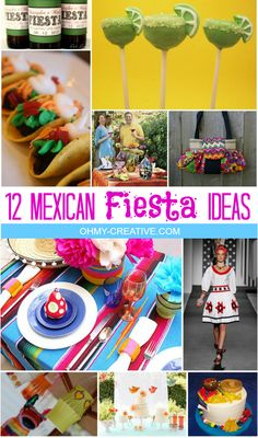 12 Mexican Fiesta Pa