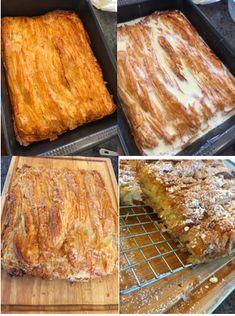 Bougatsa Recipe, It's Easy, Banana Bread, Greek, Sweets, Sugar, Heart, Desserts, Recipes