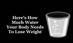 Here's How Much Water Your Body Needs to Lose Weight 17oz never sounded better